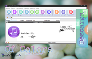 +Of Colors (Tema WinRAR) by GeraEditions