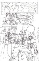 DOA HAYATE COMIC PRT4: PREVIEW by FFSquall