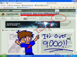 Bad pun: 10,000 pageviews by SuperNess1000