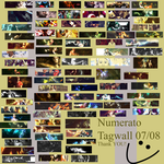 Numbered - Tagwall 07-08 by GuyWithNumbers