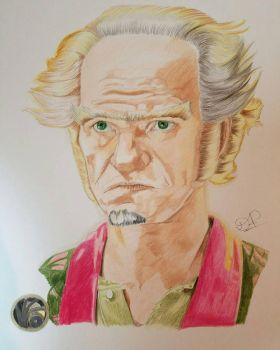 Count Olaf in A Series of Unfortunate Events  by Artistic-Imagery