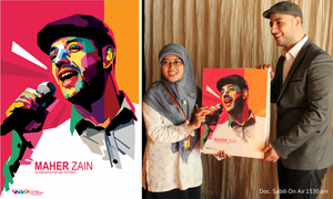 Maher Zain and His WPAP by setobuje