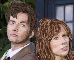 The Doctor and Donna by Harry-Potter-Addict