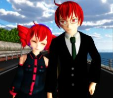 Ted and Teto by chocosunday