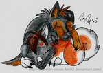 Sleeping Puppies -RQ- by Monster-House-Fan92