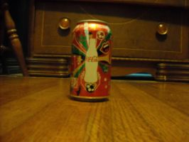 Global Soccer Game Coca Cola Can 2 by NinjaAssassin415