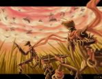 Rise of the Mantids by mashpotato18