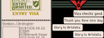 'Papers, Please' Facebook Banner by Brickstarrunner