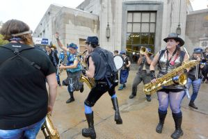 2014 Honk Festival, Chaotic Noise Boogie Down by Miss-Tbones
