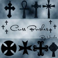 Cross Brushes by Henda-Stock