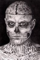Rick Genest by Z-ompire