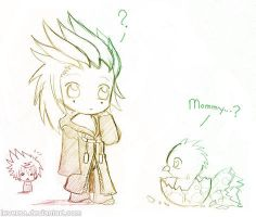 Doodle - Mommy..? by Leversa