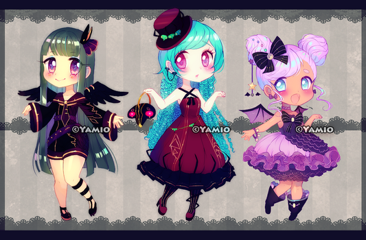 Halloween Annies 2016 [AUCTION] Closed by Yamio