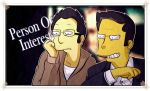 Person Of Interest (Simpsonize) by Matsuri1128