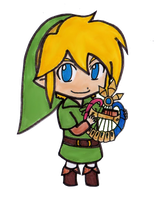 Chibi Link - Oracle of Ages by EasterEgg23