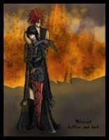 Through Hellfire and Back by Flane-kanja