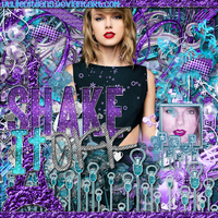 BlendCargado |Shake it off |Taylor Swift by YuliiEditiions