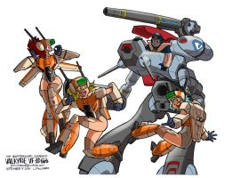 VFD Squad by polidread