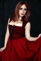 Crimson Lady by Stephanie-van-Rijn