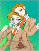 The twins by Danielle-chan