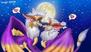 ::Gryph Pmn Love:: by norngirl