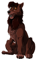 Wolf Kovu by Gashu-Monsata