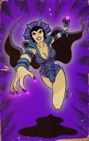 EVIL LYN cartoon version by ChrisFaccone