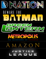 DC NATION ANIMATED UNIVERSE by MrSteiners