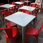 Red chairs by ratofthelab