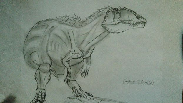 Giganotosaurus by Fate-Darknu-Dragoon