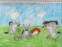 The Hyenas meet Edward by daisyplayer1