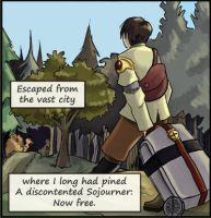 Even in Arcadia: The Sojourner by AniseShaw