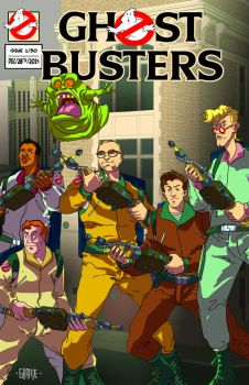 Ghostbusters comission by johnnymorbius