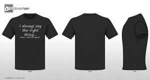 Original Quotes T-Shirt Design 2 by Asiabee311