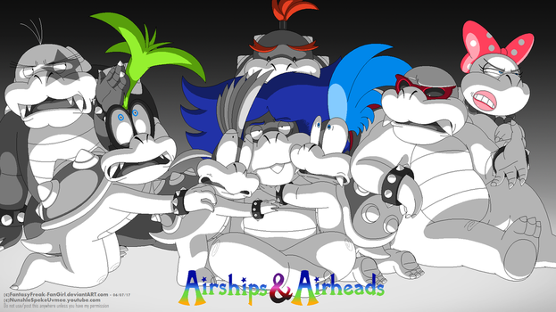 Airships and Airheads by FantasyFreak-FanGirl