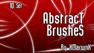 Abstract Brushes by XMarwanX