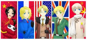 Hetalia: The Alliance Forces by red-jello04