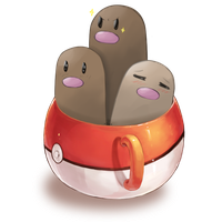 CUP OF DUGTRIO by Kallian91