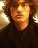 CG Takeshi Kaneshiro by lilfuzz6
