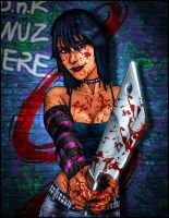 Hack Slash_Cassie BLDYMESS XGX by knytcrawlr