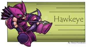 Hawkeye by badgerlordstudios