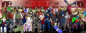 Cobra Fan Club Art Jam 2012 by TheCobraCommander