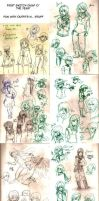 Sketches Jan '14 - March '14 by Frey-ofthe-Arcane