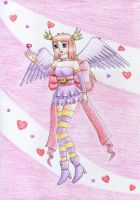 Angel of Hearts for izka197 by NormaLeeInsane