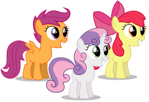Cutie Mark Crusaders by liamwhite1
