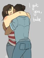 I got you, babe by c-plaus