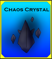 Chaos Crystal Card (Adopt) by Dianamond