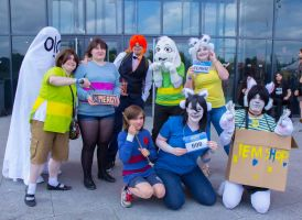 Undertale's Cosplay - Japan Addict June 2016 by Niutellat