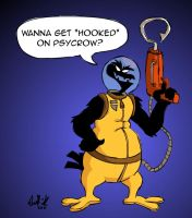 Hooked on Psycrow by zergazergabloogbloog