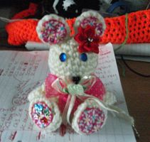 Hospital Pal - Titch - front by Pandamonium-Crochet